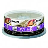 Philips DM4L6B25F - 25 x DVD-R - 4.7 GB ( 120min ) 16x - LightScribe 1.2 - spindle - storage media