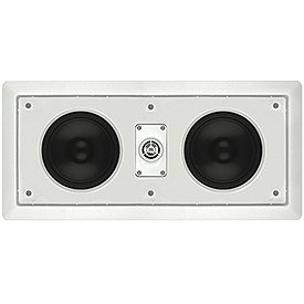 Leviton Aei55 Architectural Edition Powered By Jbl Dual 5-Inch Woofer Two-Way In-Wall Center Channel Loudspeaker