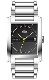 Lacoste Club Collection Berlin Steel Bracelet Black Dial Men's watch #2010516