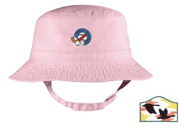 Embroidered Infant Bucket Cap with the image of: canada geese