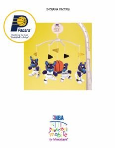 Musical Mobile - Indiana Pacers - Officially Licensed NBA Product - 1