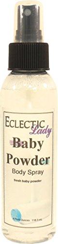 Baby Powder Body Spray, 4 ounces (Spray Baby Powder compare prices)