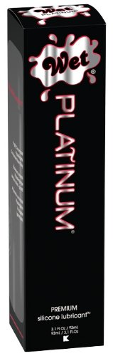Wet Platinum Premium Lubricate , 8.9-Ounce Bottle
