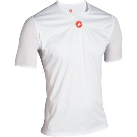 Buy Low Price Castelli Wind Baselayer Short Sleeve Top (B005JIM0JW)