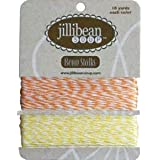 Jillibean Soup Orange/Yellow Bean Stalks Twine