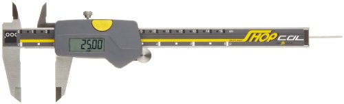 Brown & Sharpe 00590091 Digital Caliper, Stainless Steel, Battery Powered, Inch/Metric, 0-6