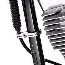 H-D Chrome Billet Clutch Cable Clamp- 38804-07