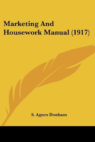 Marketing and Housework Manual (1917)
