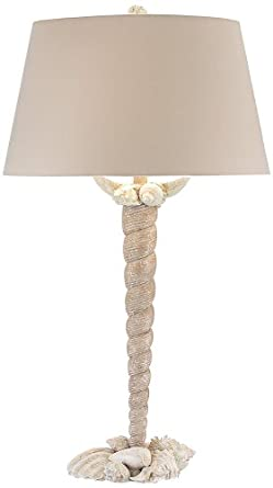 John Richard Shell Encrusted Table Lamp Home Improvement