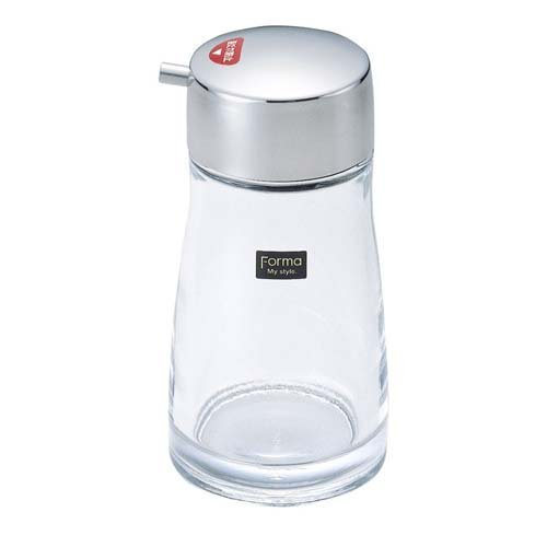 Soy Sauce Pot & Dispenser with Stainless Steel Cap. (Glass Soy Sauce Pot compare prices)
