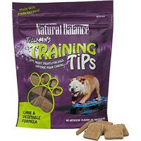 Natural Balance Tillman's Training Tips Lamb & Vegetable Formula Dog Treats