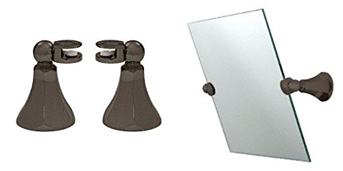 Crl Bell Design Oil Rubbed Bronze Mirror Pivots By Cr Laurence front-1013348