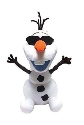 "Disney Japan. Frozen Soft Plush Smiling Olaf Wearing Sunglasses. Total 14"" H (37cm) .Limited Edition.Japan Import. - 1"