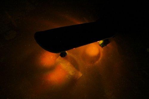 Board Blazers Led Underglow Skateboard, Longboard & Scooter Lights (Outrageous Orange)
