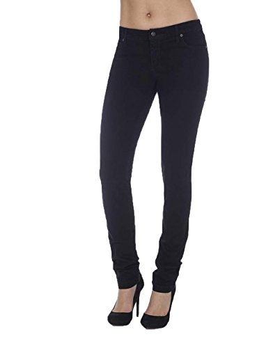 Second Yoga Jeans Women's High-Rise Skinny Jean 29 x 33 Black
