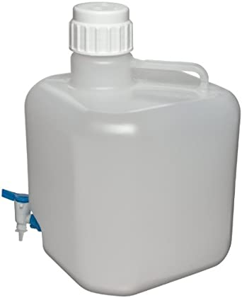 Azlon (PP) Octagonal Heavy Duty Autoclavable Carboy, with Stopcock