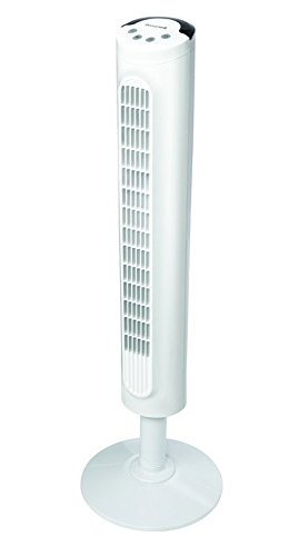 Honeywell HYF023W Comfort Control Tower Fan, Wide Area Cooling, White (Honeywell Comfort Control compare prices)