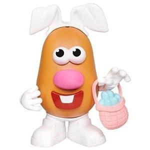 Mr. Potato Head Spud Bunny with Easter Basket