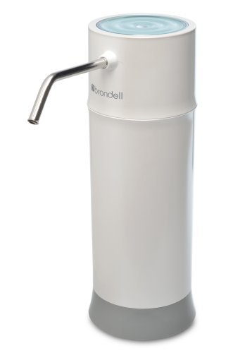 Brondell H2O+ Pearl Countertop Water Filter System. WQA Gold Seal Certified (Brondell Countertop Water Filter compare prices)