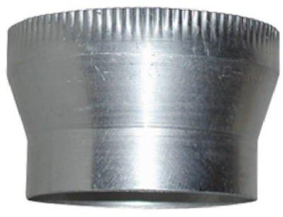 Lambro Industries 250 Vent Increaser, Aluminum, 3 X 4-In. - Quantity 12 Dryer Vent Accessories front-462865