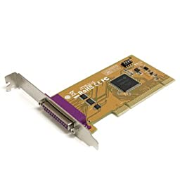 Startech StarTech IO Card PCI1PM 1Port PCI Parallel Adapter Card with Re-mappable Address