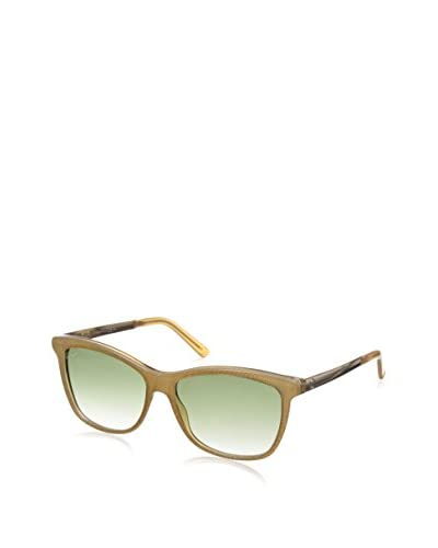 Gucci Women's Sunglasses, Beige Rose Gold/Olive Gradient