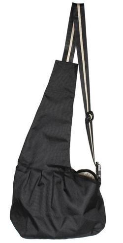 Andoer Pet Bag/Borsa/Borse Carrier Bag/Borsa/Borse in tessuto Oxford Bag/Borsa/Borse singola spalla Bag/Borsa/Borse per Cane Gatto Nero (L)