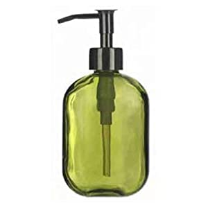 Careo Recycled Glass Soap Dispenser Lime Green Kitchen Home