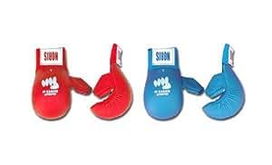 Noris - Gant karate av. pouce FFkarate - Couleur : Bleu - Taille : SMALL