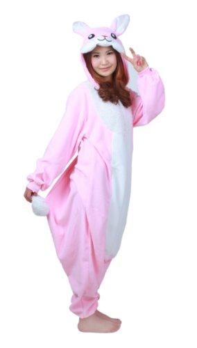 Pink Rabbit Kigurumi Costume