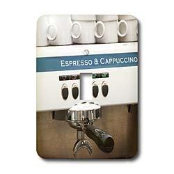 3dRose LLC lsp_82604_1 Espresso Machine, Café, Stockholm Sweden Eu28 Pka0077 Per Karlsson Single Toggle Switch by 3D Rose (Home Improvement)