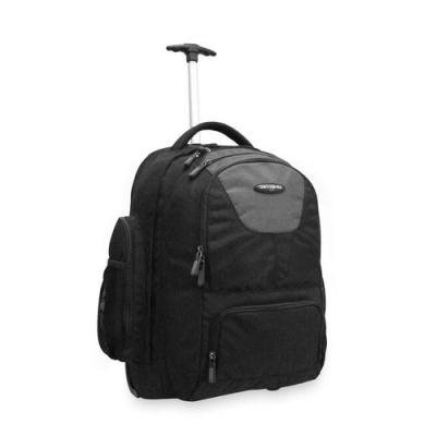 Samsonite Corporation – Wheeled Backpack, w/Organizational Pockets, Black