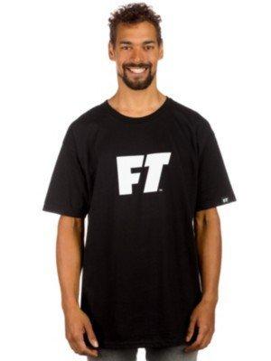 Touchlines-Maglietta da uomo Full Tilt-Maglietta con Logo nero M