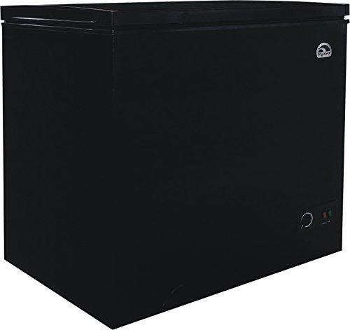 igloo frf705 black 7 1 cu ft chest freezer black home. Black Bedroom Furniture Sets. Home Design Ideas