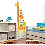 Banggood Wall Decor Cartoon Giraffe Removable Vinyl Sticker Kid Height Chart Measure