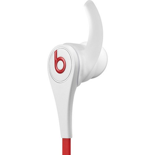 Beats By Dr. Dre Tour In-Ear Headphones (Second Generation, White) Bundle With Beats Cable With Microphone And Custom Designed Zorro Sounds Cleaning Cloth