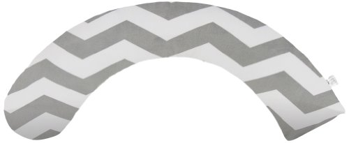 Luna Lullaby Luna Dream Full Body Pillow, Chevron Grey Chevron Grey
