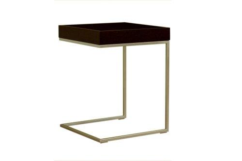 Cheap Baxton Studio Quarantino Oak End Table, Black (B001HX36SM)