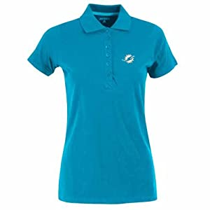 Miami Dolphins Ladies Spark Polo (Team Color) by Antigua