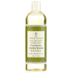 Deep Steep Foaming Hand Wash Refill, Rosemary Mint, 16 Ounce