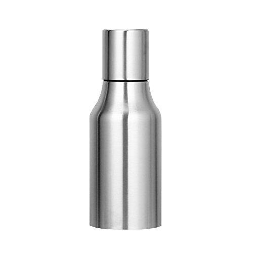 Oil & Vinegar Dispenser - WeHome Stainless Steel Olive Oil/Vinegar/Sauce Cruet,Essential Oil Bottle Edible Oil Container Pot,17 oz/500ML,Leak-proof with Pouring Spout (Olive Oil And Vinegar Container compare prices)