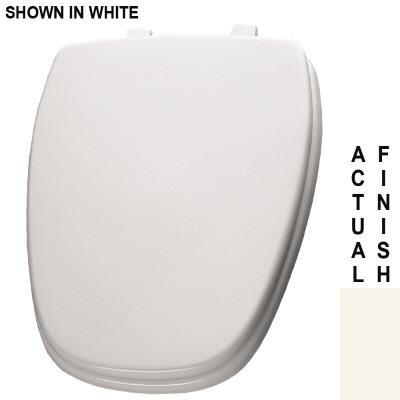 Bemis 1240210346 Eljer Emblem Molded Wood Round Toilet
