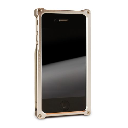 Best Price Aluminum Frame Case for iPhone 5 (Silver)