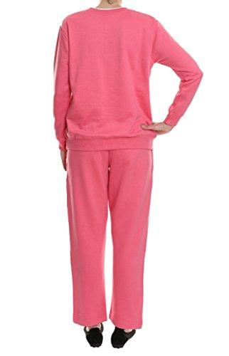 Pembrook Women's Embroidered Fleece Sweatsuit Set- XXL ...