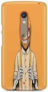 KSC Desginer Hard Back Case Cover For Motorola Moto X Play