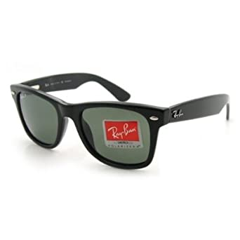 Ray Ban Wayfarer Sunglasses with Polarized Lens - RB2113 - Black 901-48 54/19
