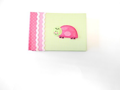 Baby Essentials Baby Brag Book Green Gingham Ladybug - 1