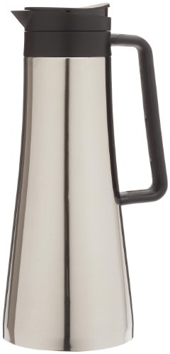 BODUM Bistro 1.1 Litre/ 37 oz Thermo Jug, Stainless Steel