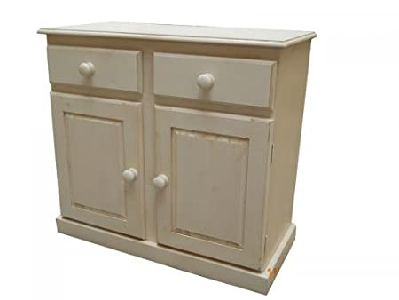 Wye Pine Distressed Sideboard - Mix - Colour: Blue