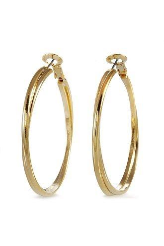alexa-starr-5290-ep-g-two-row-round-edge-hoop-earrings-goldtone